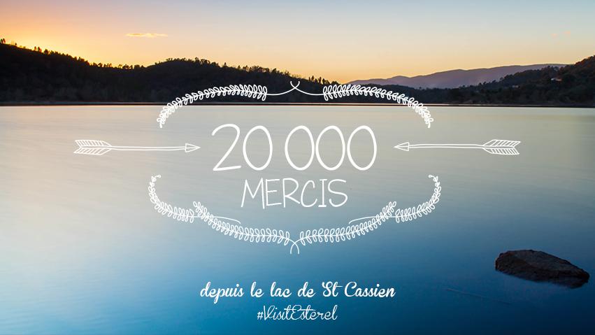 20 000 fans sur Facebook