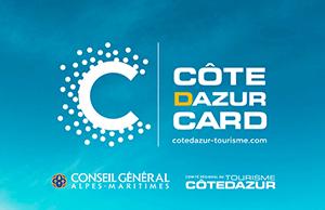 Découvrez la Côte d'Azur Card !