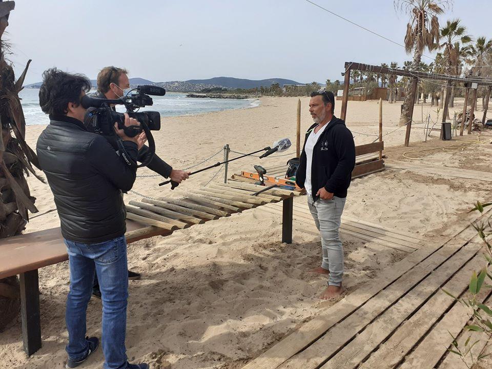 Médias : Estérel Côte d'Azur poursuit les accueils presse et TV