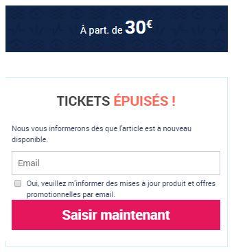 Expérience Côte d'Azur - Tickets épuisés