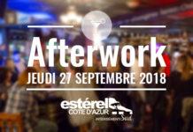 AfterWork Estérel Côte d'Azur - 27.09.2018