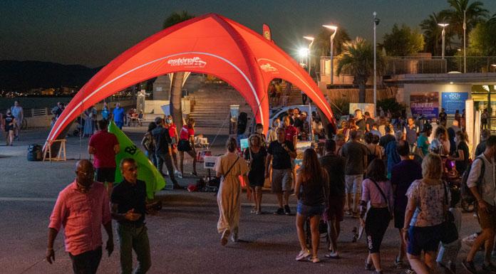 Promotion hors les murs : Expérience Côte d'Azur sur les marchés nocturnes !