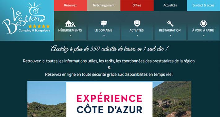 Le camping la Bastiane intègre la vente des loisirs sur son site