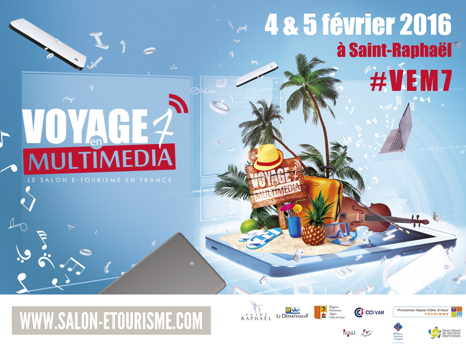 Salon e-tourisme #VeM7 : décollage imminent !