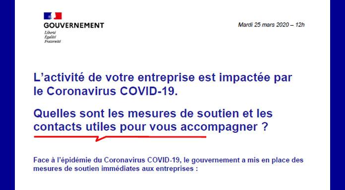 Covid-19 : Informations utiles pour les professionnels