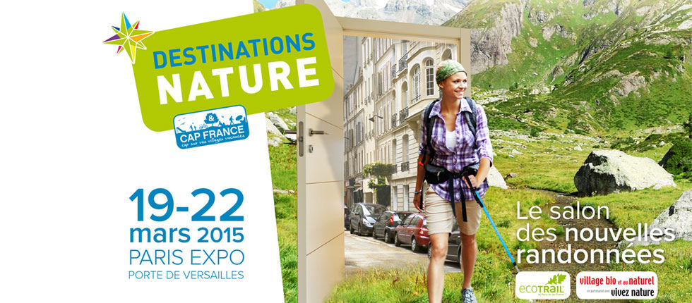 Participation au salon Destinations Nature à Paris