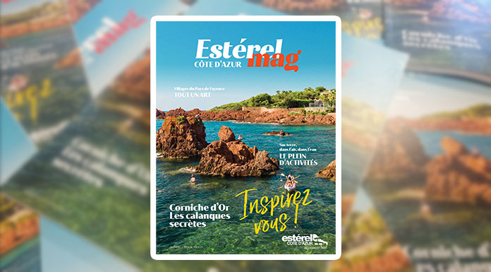 Estérel Côte d'Azur sort son 1er magazine de destination