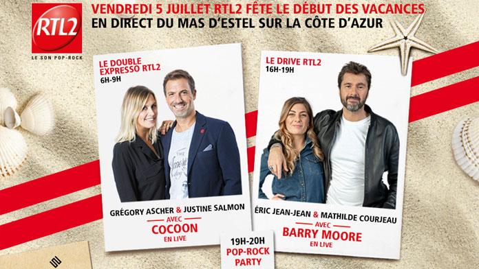 RTL2 : le Double Expresso en live au Mas d'Estel