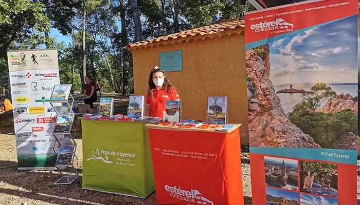 Estérel Côte d'Azur partenaire de l'EcoTrail du Pays de Fayence