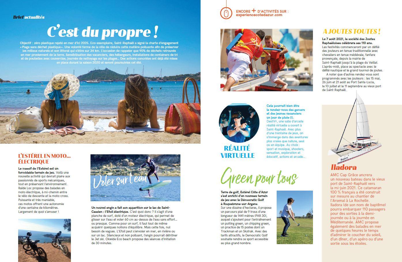 Esterel Mag 2021 - pages internes