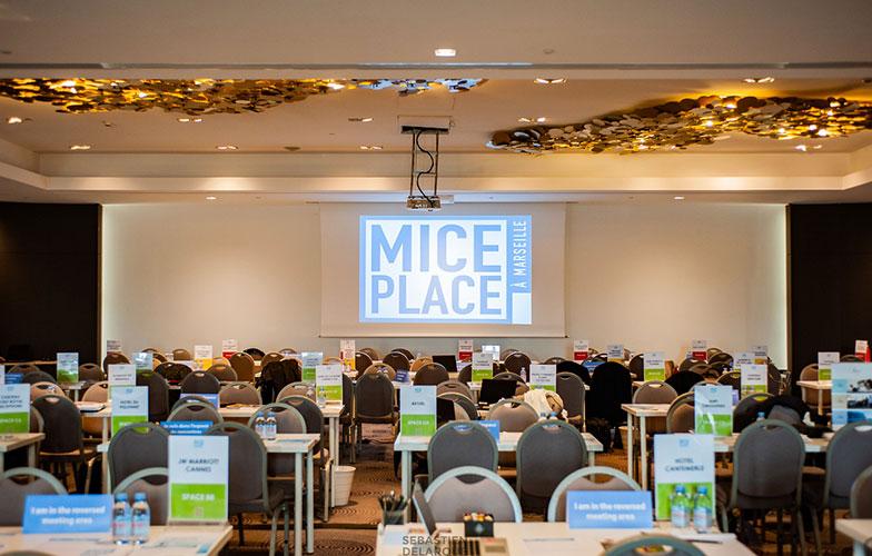 MICE PLACE MARSEILLE : 1er déplacement professionnel de l'année à destination du marché MICE