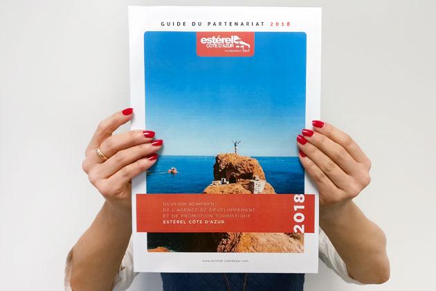 Consultez le nouveau Guide de l'Adhérent Estérel Côte d'Azur