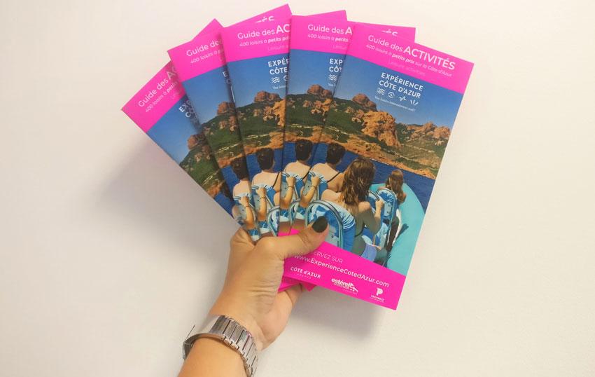 Découvrez le guide des loisirs Expérience Côte d'Azur 2019