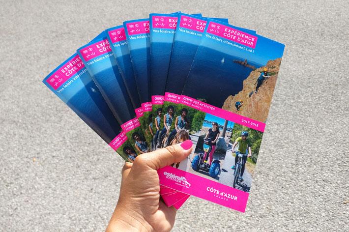 Experience Cote d'Azur Guide Activites 2017-2018