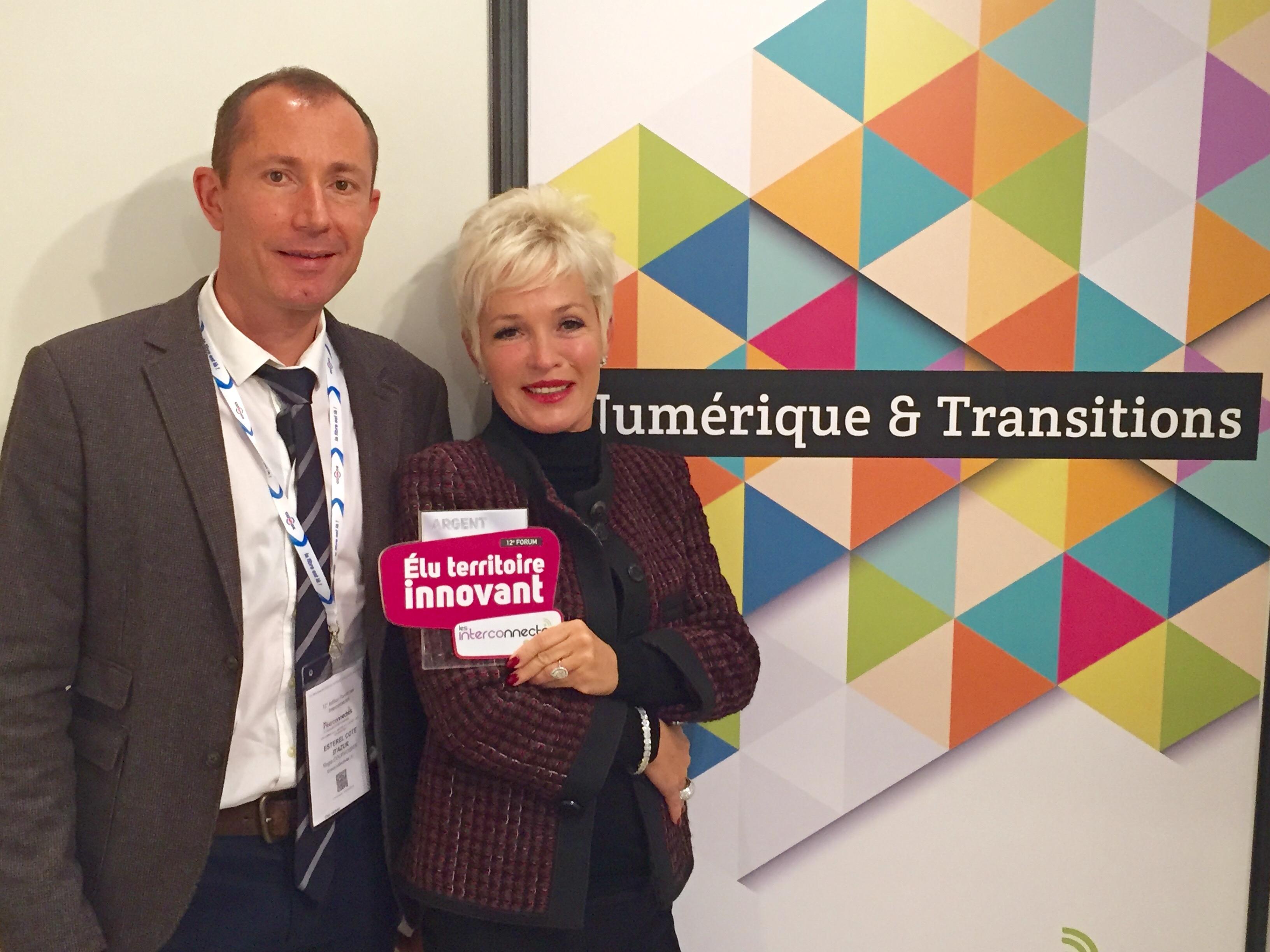 Estérel Côte d'Azur élu «Territoire Innovant 2015»
