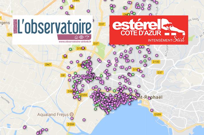 2886 offres Airbnb sur le territoire Estérel Côte d'Azur