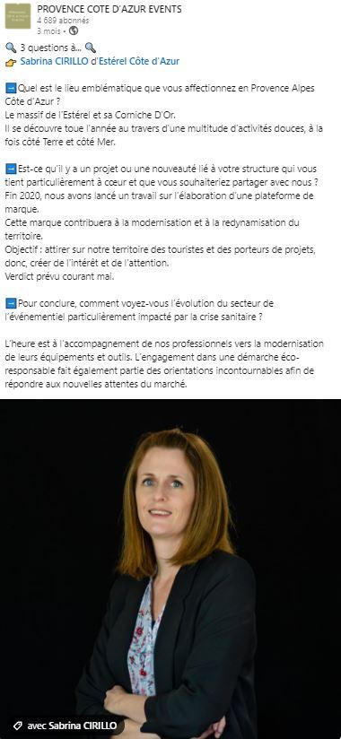 PCE - Interview sabrina
