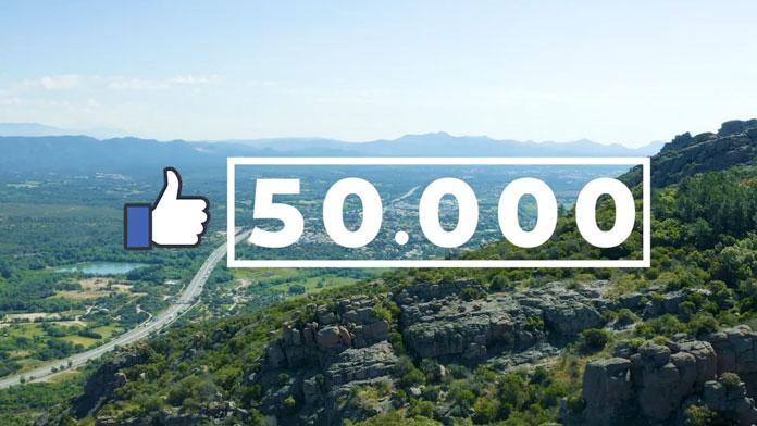 Social Media : + de 50k abonnés Facebook Estérel Côte d'Azur