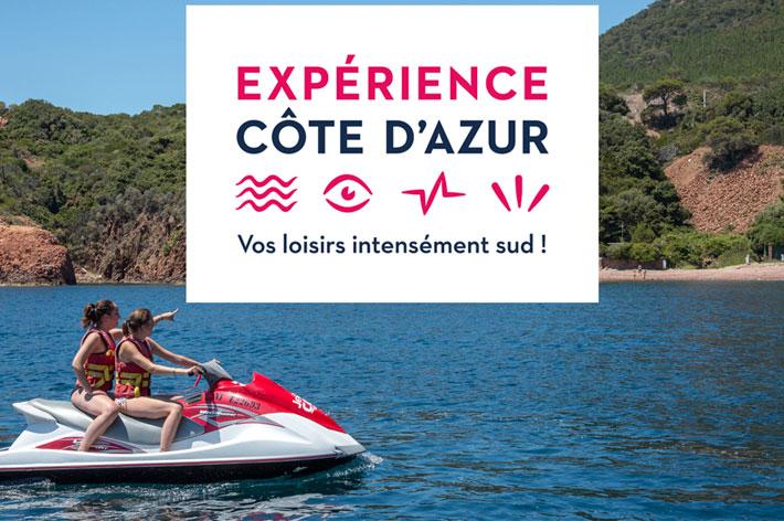 Un nouveau site e-commerce pour les loisirs : ExperienceCotedAzur.com