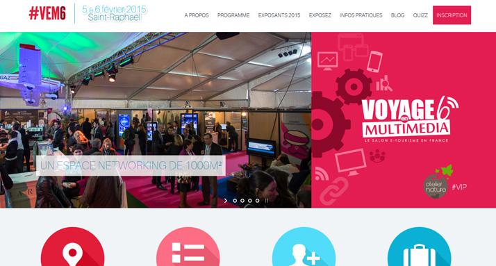 Le salon du e-tourisme les 4, 5 et 6 février à Saint-Raphaël