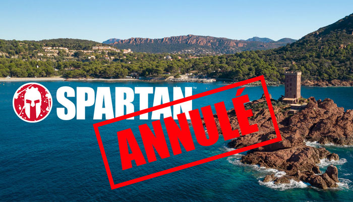 Spartan race esterel course annulée