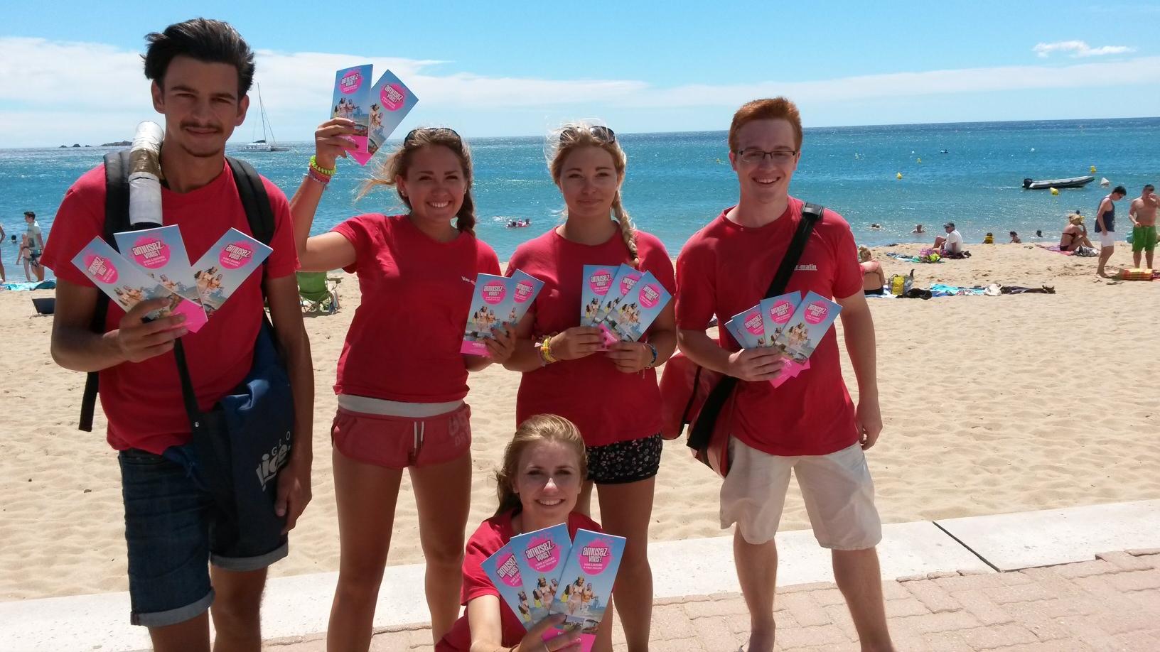 Le guide loisirs diffusé sur les plages