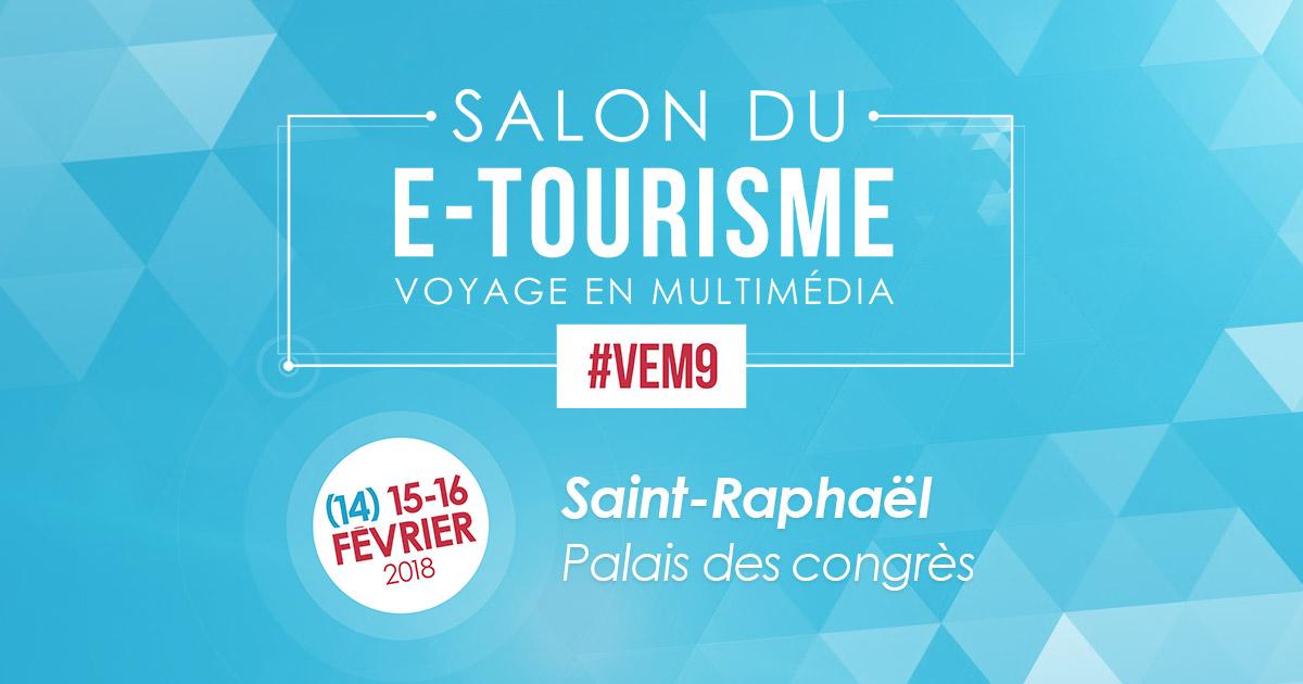 #VeM9 : Retour en chiffres sur le salon e-tourisme !