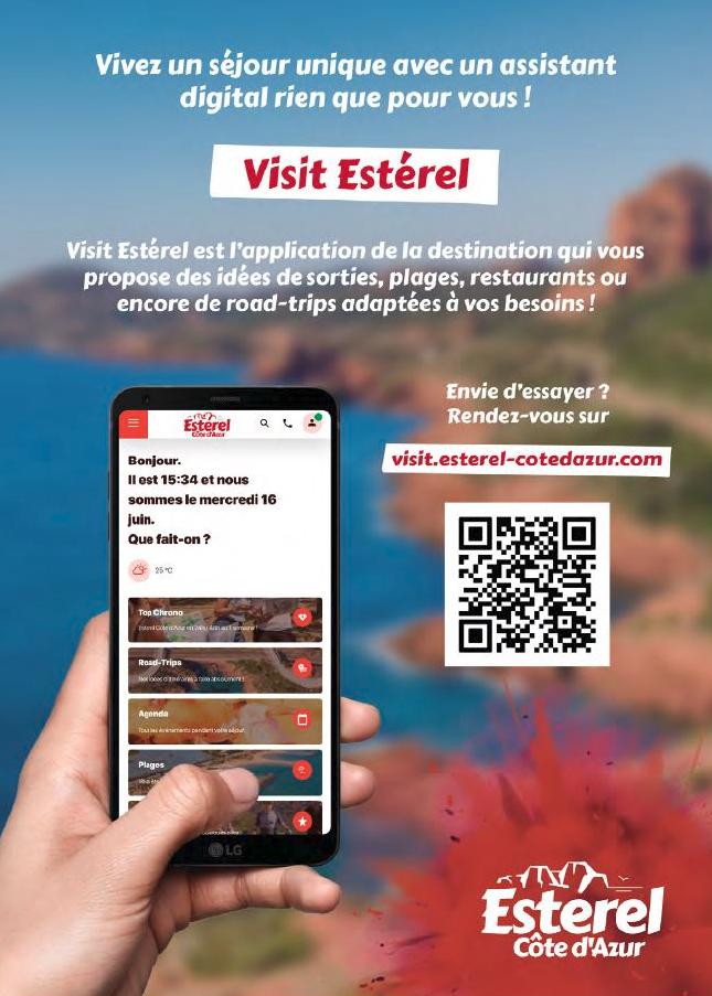 Visit Esterel - Bonjour Nestor - Mobile