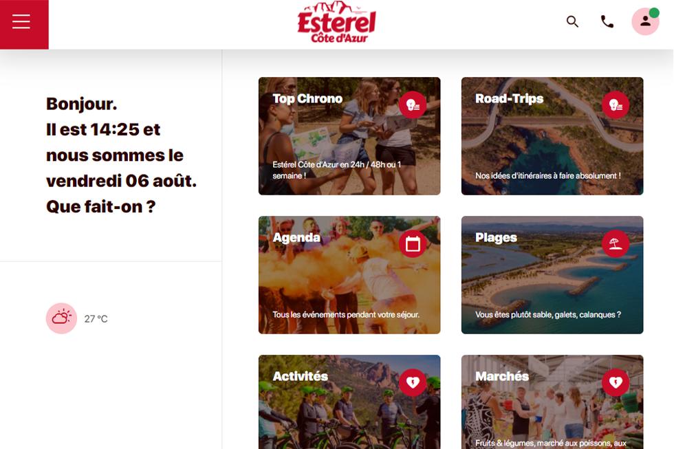 Visit Estérel, l'assistant digital de séjour