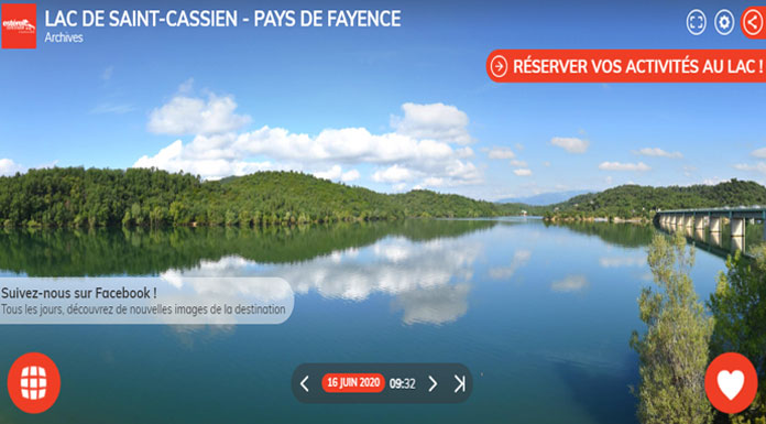 Webcam Esterel cote d'azur - Saint-Cassien