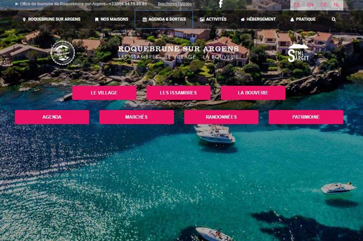 D couvrez le nouveau site tourisme de roquebrune sur - Office tourisme roquebrune sur argens ...