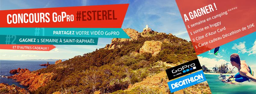 Concours vidéo GoPro Estérel Côte d'Azur