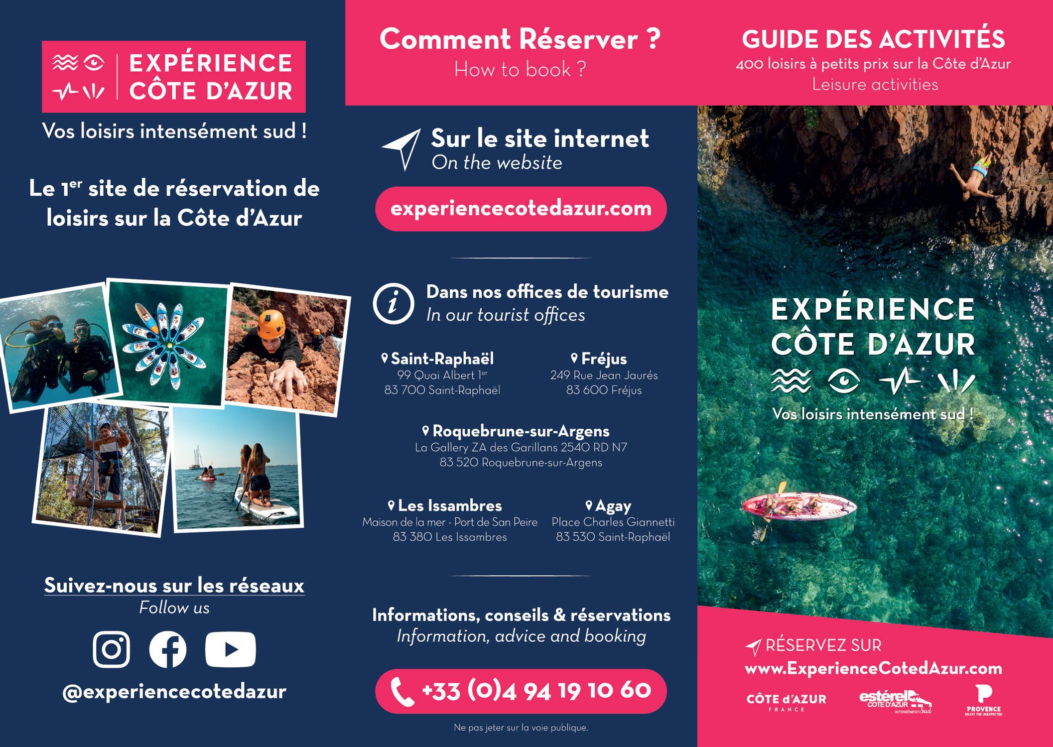 flyer - experience cote d'azur