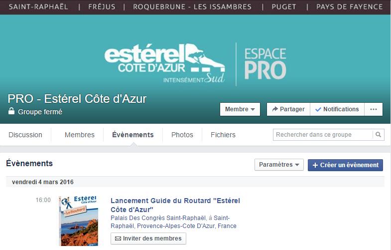 Un groupe Facebook dédié aux professionnels du territoire