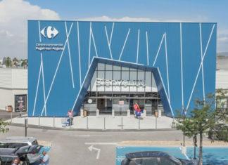 centre commercial carrefour puget