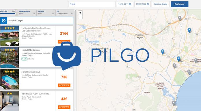 pilgo - solution de distribution hoteliere
