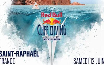 Juin 2021 : Saint-Raphaël accueille le Red Bull Cliff Diving World Series 2021
