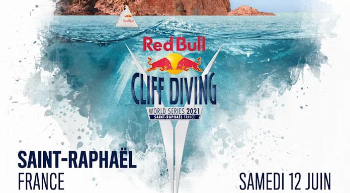 redbull cliff diving - saint-raphael