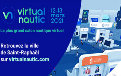 Virtual Nautic : le plus grand salon virtuel nautique à Saint-Raphaël les 12 et 13 mars 2021